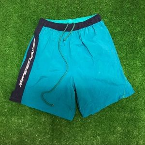 Vintage 90s Speedo Swim Trunk Shorts